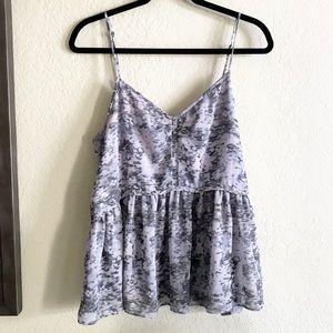 Urban Outfitters / Lavender Splatter Tank Top